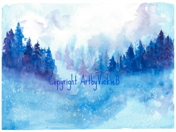 Snowy_Landscape watercolor