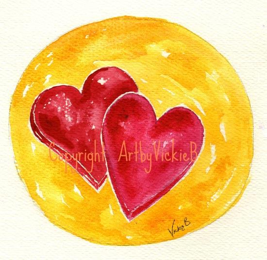 2 Hearts Valentines
