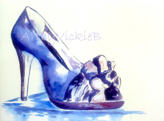 Purple Dream Shoe