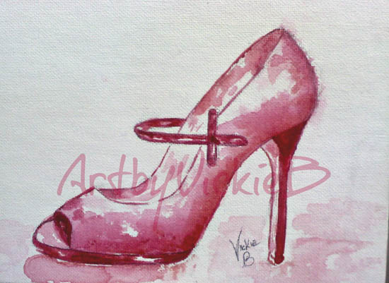 Tango Pink High Heel